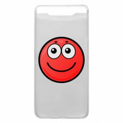 Чохол для Samsung A80 Ball with smile