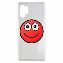 Чохол для Samsung Note 10 Plus Ball with smile