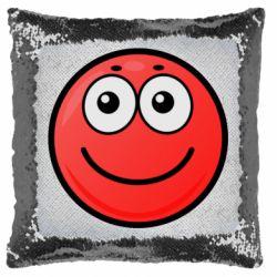Подушка-хамелеон Ball with smile