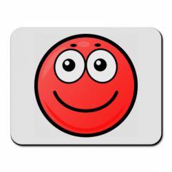 Килимок для миші Ball with smile