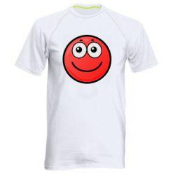 Чоловіча спортивна футболка Ball with smile
