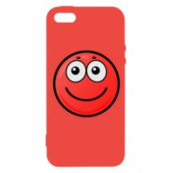 Чохол для iphone 5/5S/SE Ball with smile