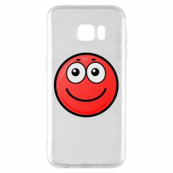 Чохол для Samsung S7 EDGE Ball with smile