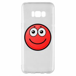 Чохол для Samsung S8+ Ball with smile