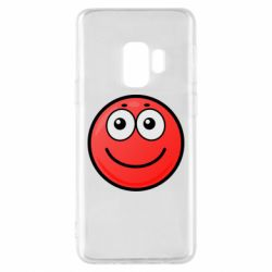 Чохол для Samsung S9 Ball with smile