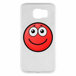 Чохол для Samsung S6 Ball with smile
