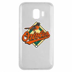 Чохол для Samsung J2 2018 Baltimore Orioles