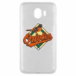 Чохол для Samsung J4 Baltimore Orioles