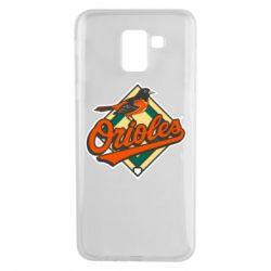 Чохол для Samsung J6 Baltimore Orioles