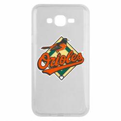 Чохол для Samsung J7 2015 Baltimore Orioles
