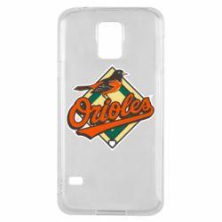 Чохол для Samsung S5 Baltimore Orioles