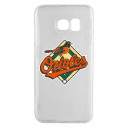 Чохол для Samsung S6 EDGE Baltimore Orioles