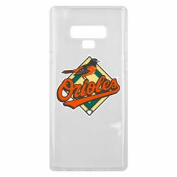 Чохол для Samsung Note 9 Baltimore Orioles
