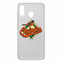 Чохол для Samsung A20 Baltimore Orioles