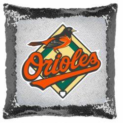 Подушка-хамелеон Baltimore Orioles