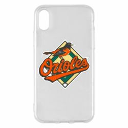 Чохол для iPhone X/Xs Baltimore Orioles