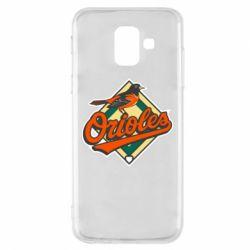 Чохол для Samsung A6 2018 Baltimore Orioles