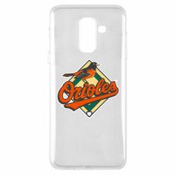 Чохол для Samsung A6+ 2018 Baltimore Orioles