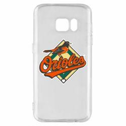 Чохол для Samsung S7 Baltimore Orioles
