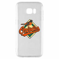 Чохол для Samsung S7 EDGE Baltimore Orioles