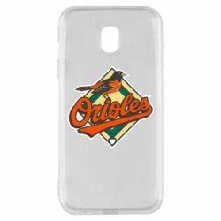 Чохол для Samsung J3 2017 Baltimore Orioles