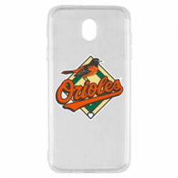 Чохол для Samsung J7 2017 Baltimore Orioles