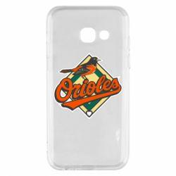 Чохол для Samsung A3 2017 Baltimore Orioles