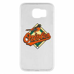 Чохол для Samsung S6 Baltimore Orioles