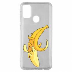 Чохол для Samsung M30s Banana in a Banana