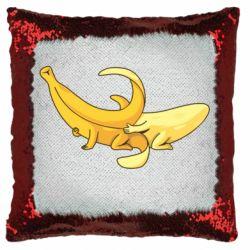 Подушка-хамелеон Banana in a Banana