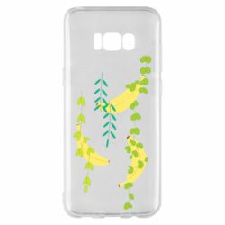 Чехол для Samsung S8+ Bananas and creepers