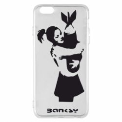 Чехол для iPhone 6 Plus/6S Plus Bancsy bomb love