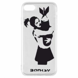 Чехол для iPhone 8 Bancsy bomb love