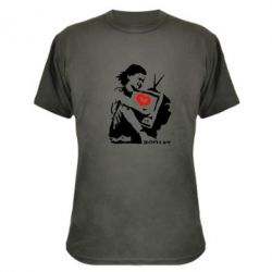 Камуфляжная футболка Bancsy TV - FatLine