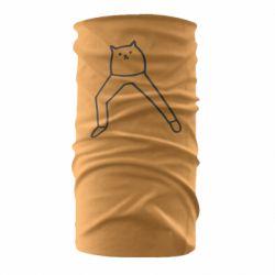 Бандана-труба Cat in pants
