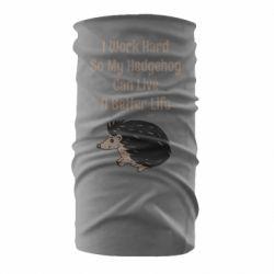 Бандана-труба Hedgehog with text