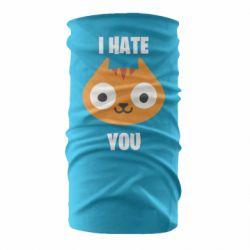 Бандана-труба I hate you