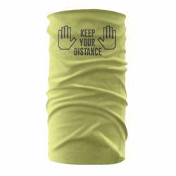 Бандана-труба Keep your distance