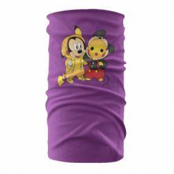 Бандана-труба Mickey and Pikachu