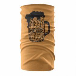 Бандана-труба Need more beer