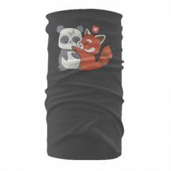 Бандана-труба Panda and fire panda