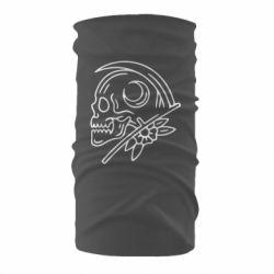 Бандана-труба Skull with scythe