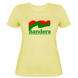 Женская футболка Bandera - FatLine
