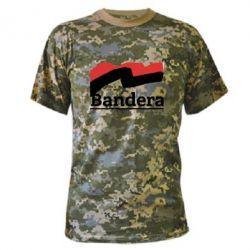 Камуфляжная футболка Bandera - FatLine