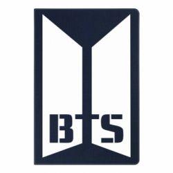 Блокнот А5 Bangtan Boys double logo