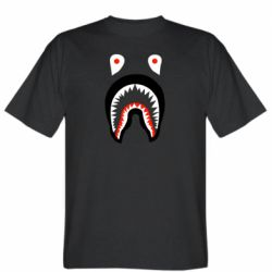 Мужская футболка Bape shark logo