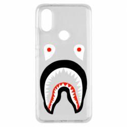 Чехол для Xiaomi Mi A2 Bape shark logo