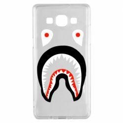 Чехол для Samsung A5 2015 Bape shark logo