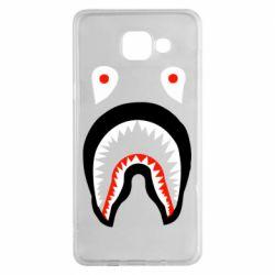 Чехол для Samsung A5 2016 Bape shark logo