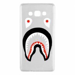 Чехол для Samsung A7 2015 Bape shark logo